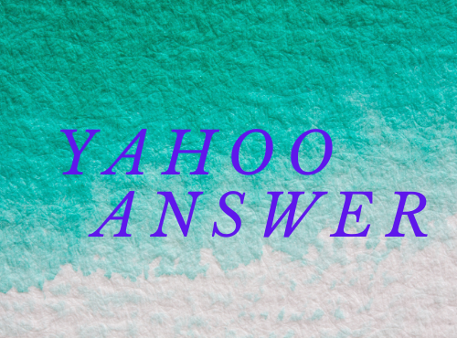 I will do promote your website 10 high quality yahoo answer