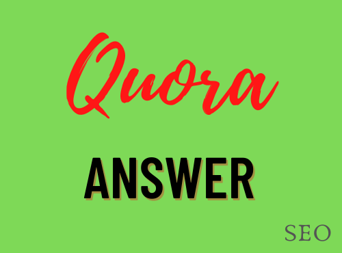 Promote your website with 20 Quora Answer with unique Article
