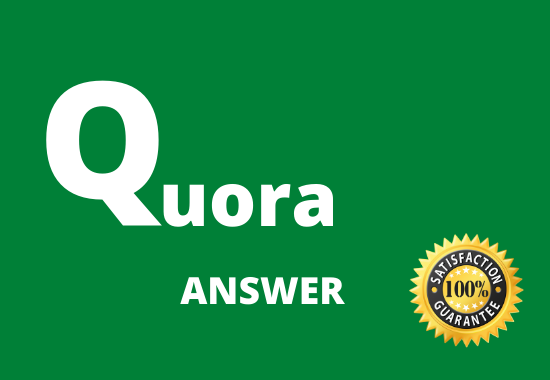 Promote 5 High Quality Quora Answer with Keyword and URL