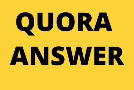 GET 12 unique Quora Answer With SEO Clickable High Quality Backlinks