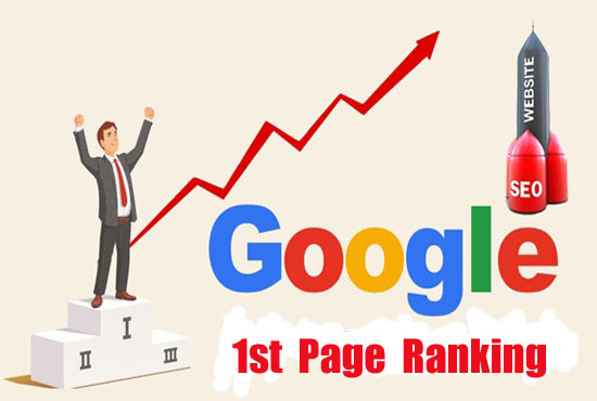 I will rank your website 1st page of google