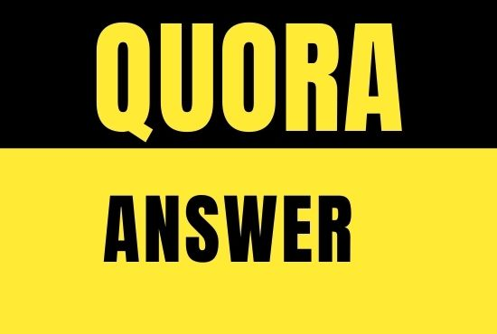 I will Promote your website with 6 Quora Answer By HQ Backlinks