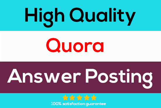 Promote your Business by 10 best High-Quality Quora answer