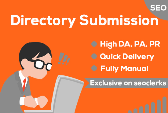 I will provide 100 Powerfull High-Quality Directory Submission Low cost