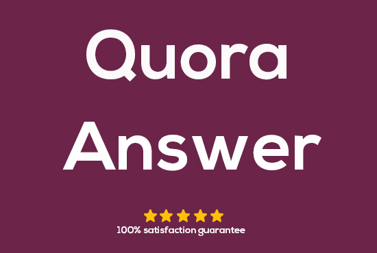 5 High-Quality unique quora answer get targeted traffic