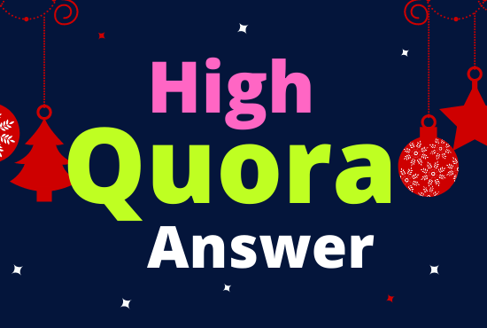 Get Organic Traffic On Your Website 30 QUORA Backlink in 2021 safe Method