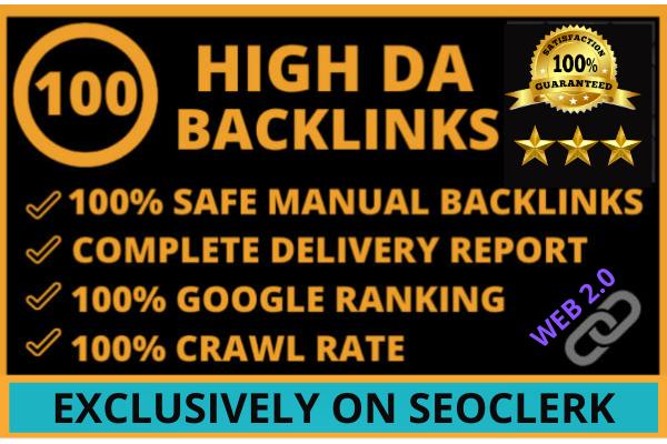 I will do 30 High DA backlinks in your niche