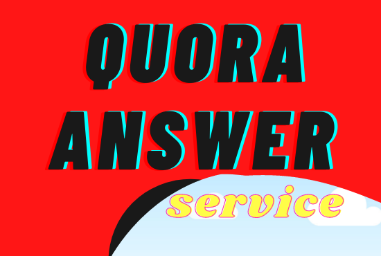 I will give 3 Quora questions and answer