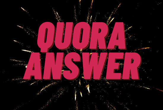 I will promote 10 High Quality Quora Answer with Keyword and URL