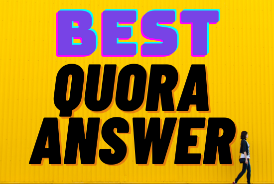 Give you 20 Quora Answer posting