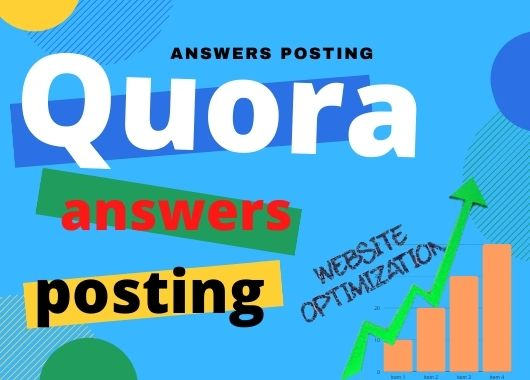 Promote Your Website With 5 High Quality Quora Answer Backlinks