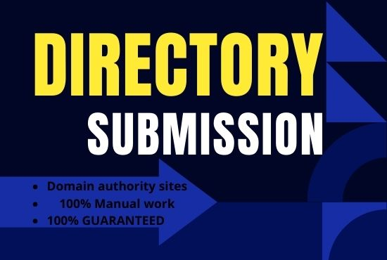I will Do 100 Manually High Quality Directory Submission Backlinks on High Authority Site