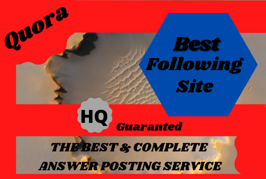 Promote your website with 3 best quality quora answer