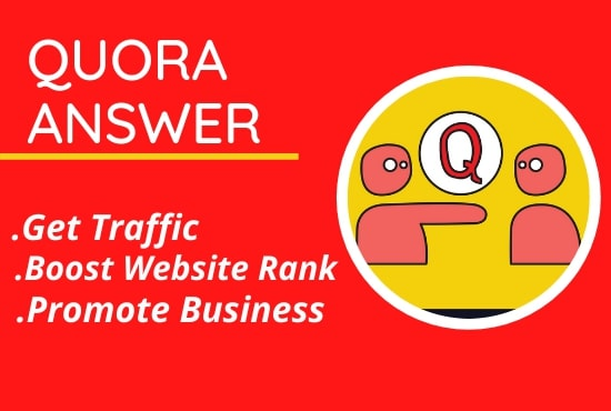 Posting 20 High Quality Quora Answer with Your Keyword And URL.
