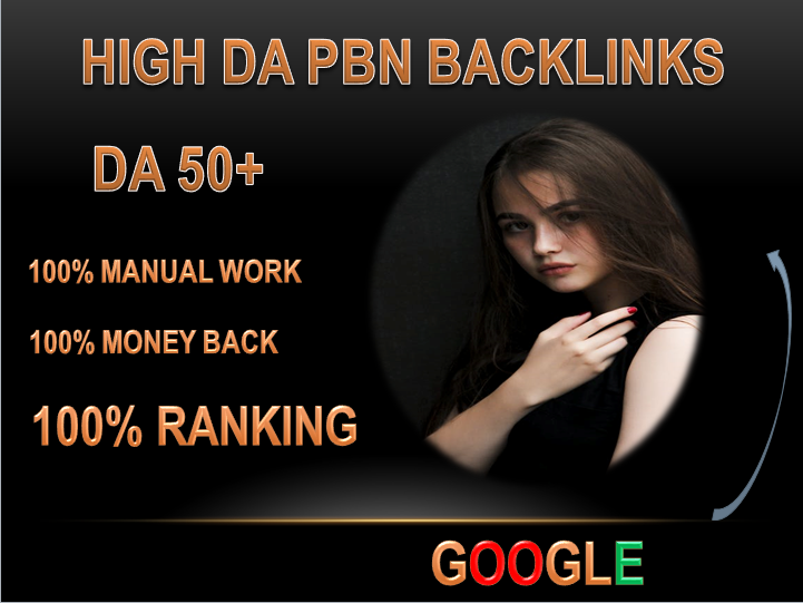 I will do provide 60 homepage seo pbn backlinks da 50 plus