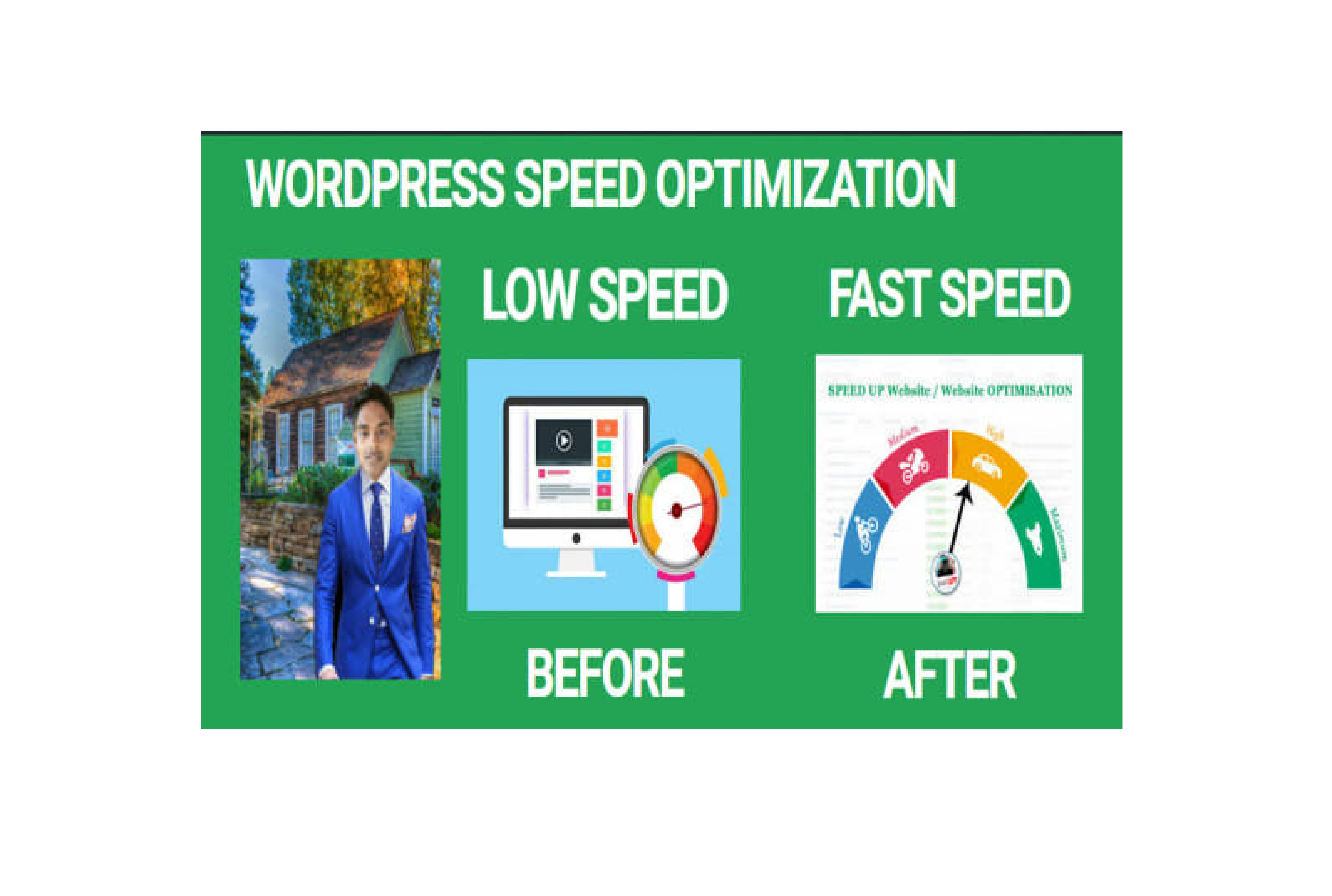 I will speed up or optimization your wordpress full website delivery 3 hours