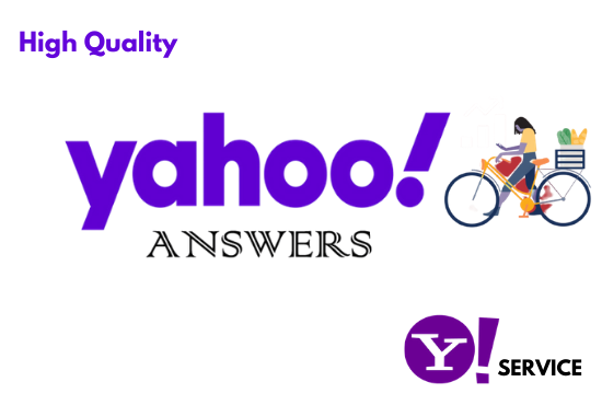 I will Boost your website by 10 yahoo answers with clickable link