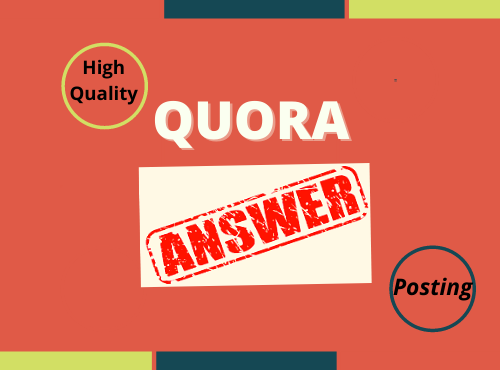 I will write for you Niche related 3 Quora Answer for target Traffic