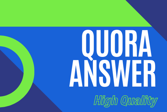 Quranteed 20 High quality Quora answer for Promote your website