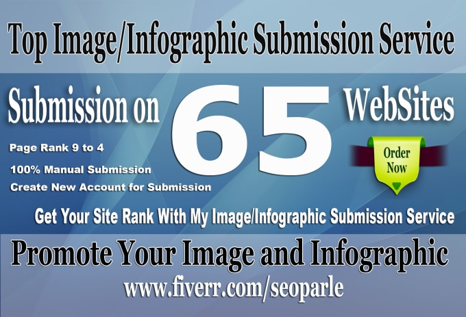 I am submission 65 infographic and images in image sharing sites