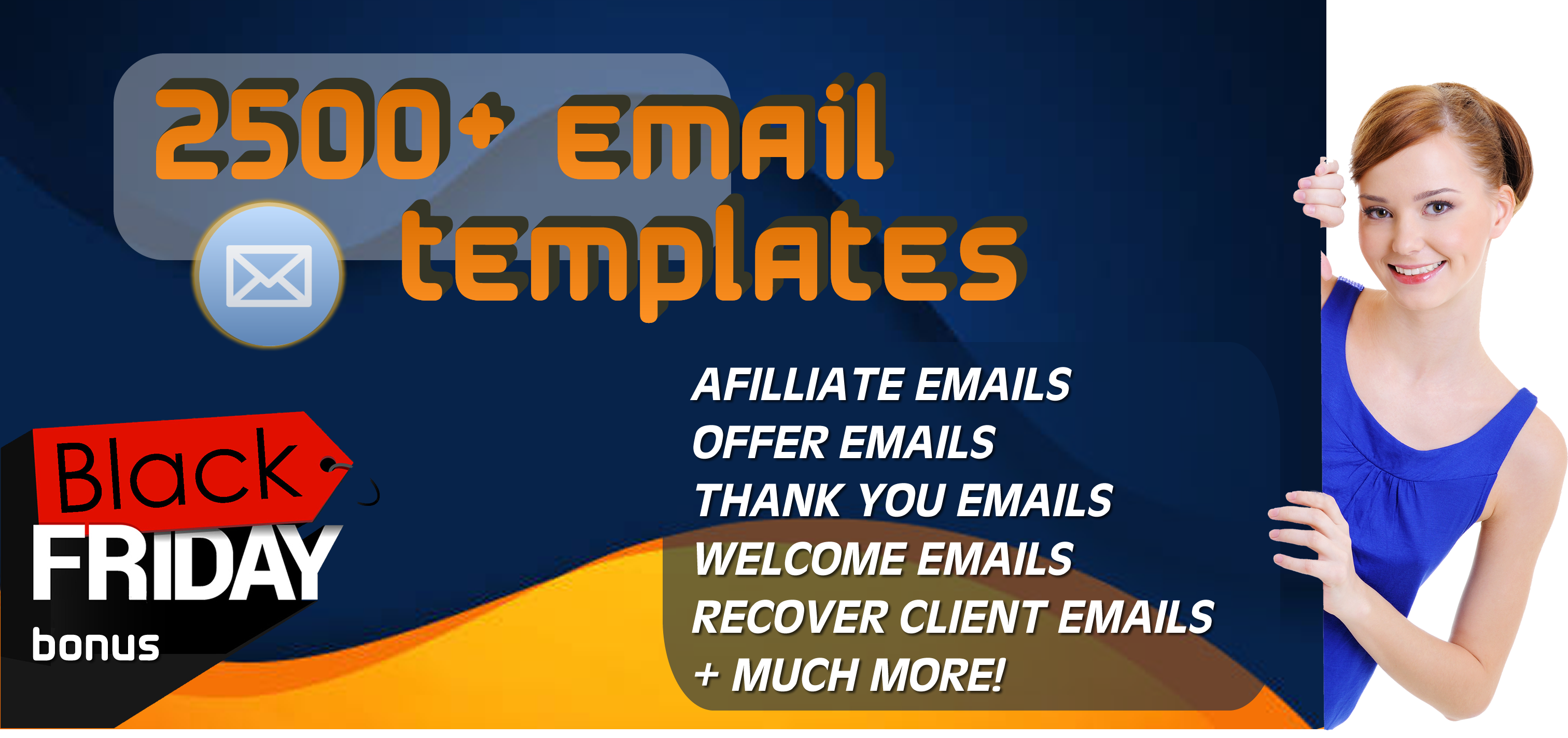 I will give you more than 2500 PLR ready copywriting emails to use