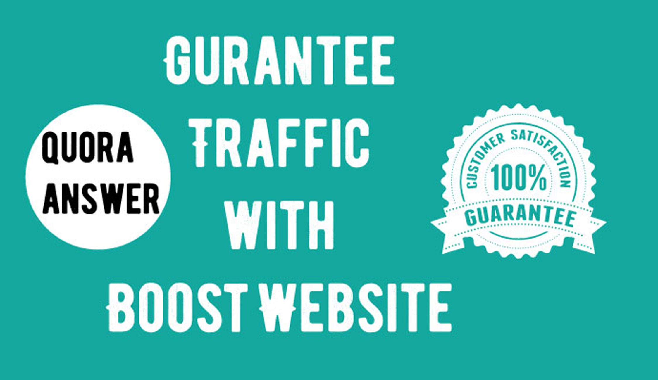 Promote your website with niche relevant 20HQ Quora Answers with your Keyword & URL