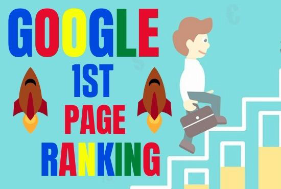 I will do SEO service to lift up your site on google 1st page