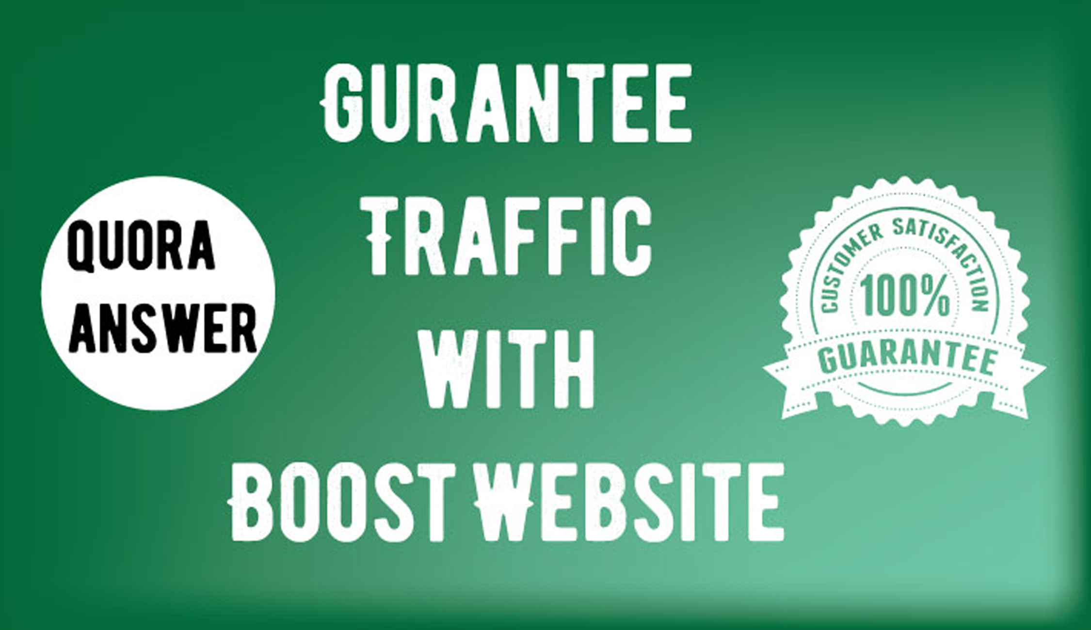Promote your website by using 10 HQ Quora answers for targeted traffic