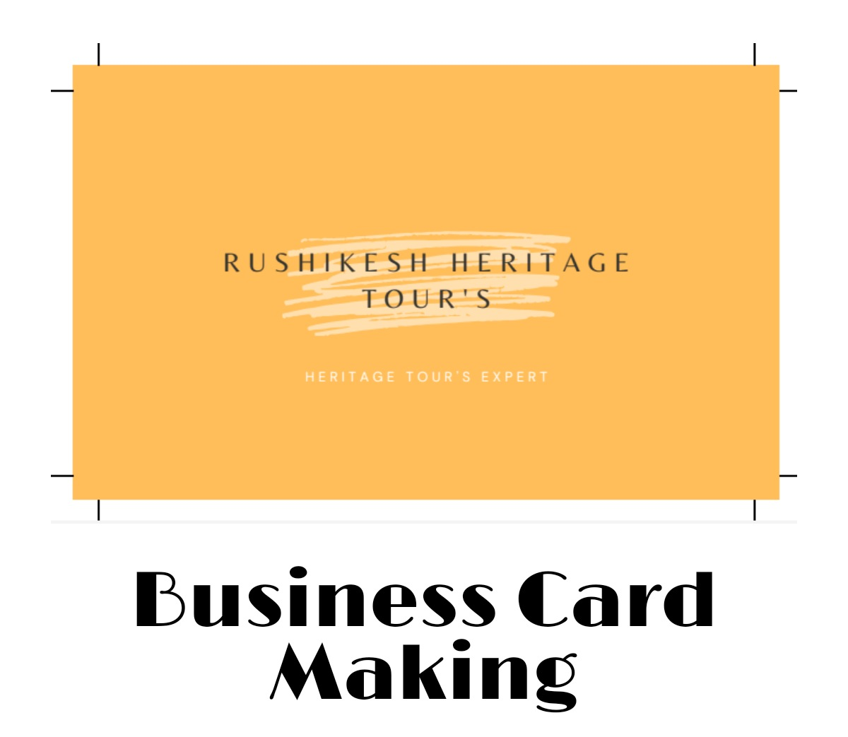 Professional Business Card Making