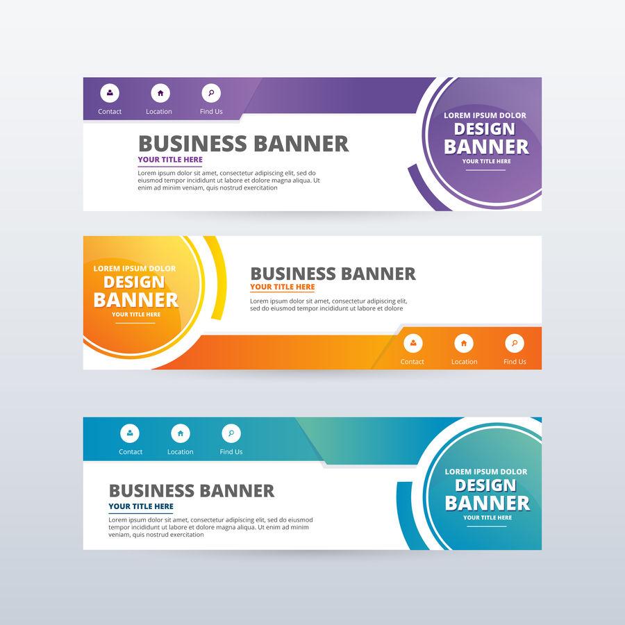I will create attractive banner design professionally