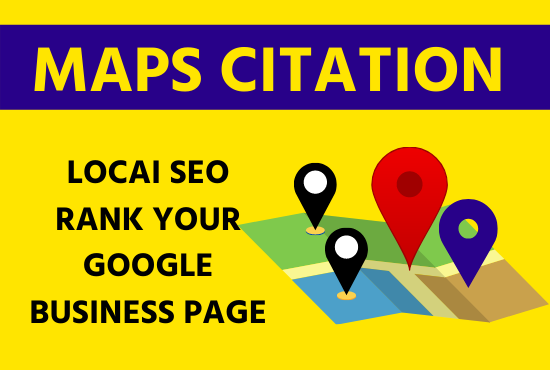 I want to create 150 maps citation manually Directory submission,  local listing