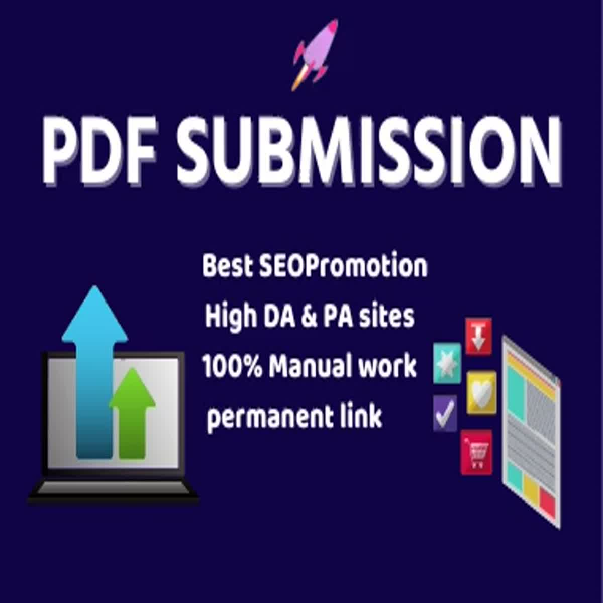 Manual 20 PDF Submission high authority Domain Low spam score website