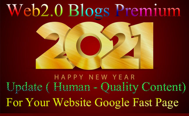 I will Do 10 Web 2.0 blogs Premium Human-Quality Content - Full Details