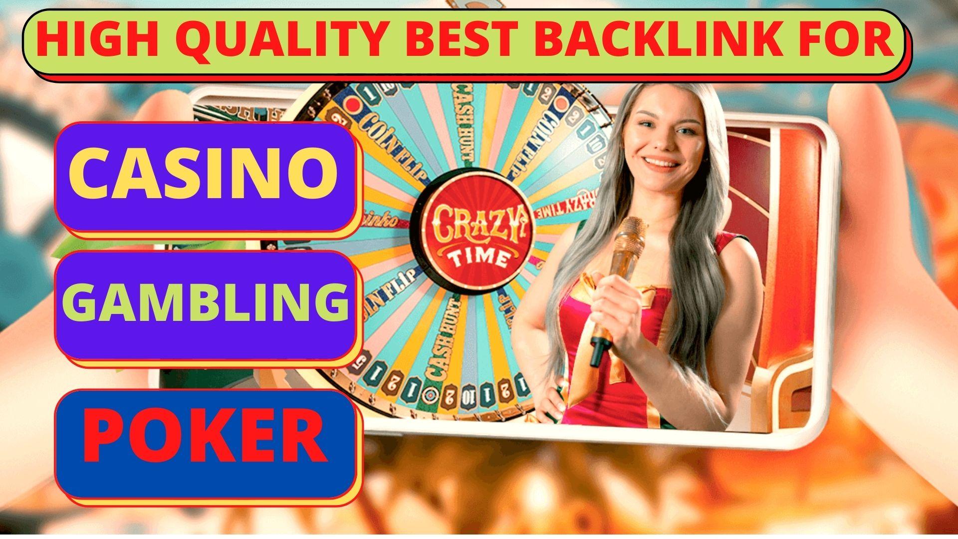 Powerful 15,000 PBN CASINO/POKER/GAMBLING/JUDI BOLA/ With Unique Domain PBN backlinks