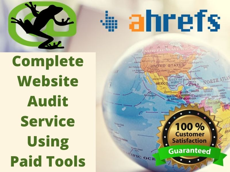 Investigate Your Website and Provide Professional SEO Audit Reports
