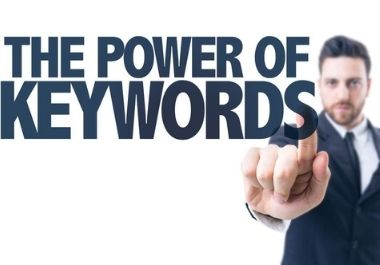 I will do with attention SEO keyword research and competitor analysis
