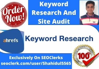 Best SEO keywords research and competitor analysis