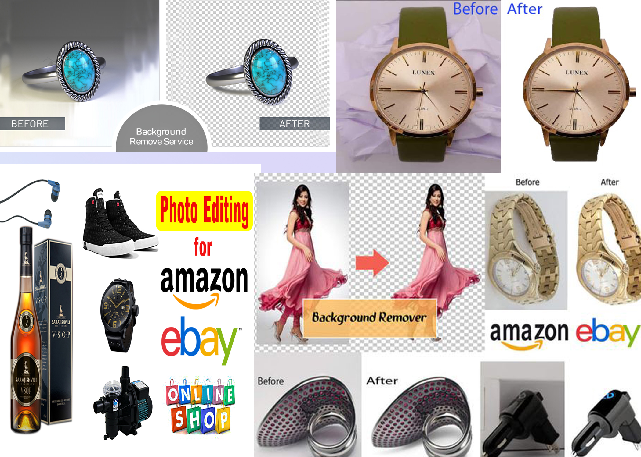 I will do 500 images background removal professionally