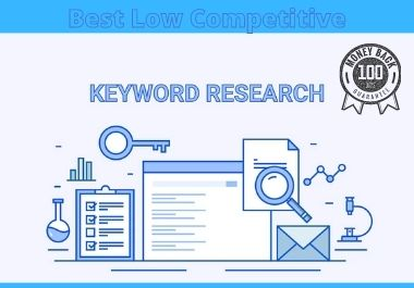 I will do profitable keyword research for any niche & excellent action plan