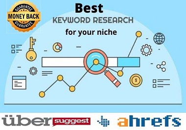 I will provide best profitable & long tail keyword research for your nishe
