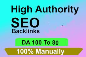Add create 100 high da authority backlinks