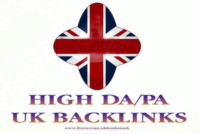 Create build 50 UK high quality seo backlinks
