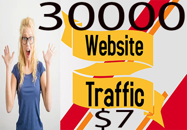 I will send over totally 30000 top quality super targeted USA traffic to your website.