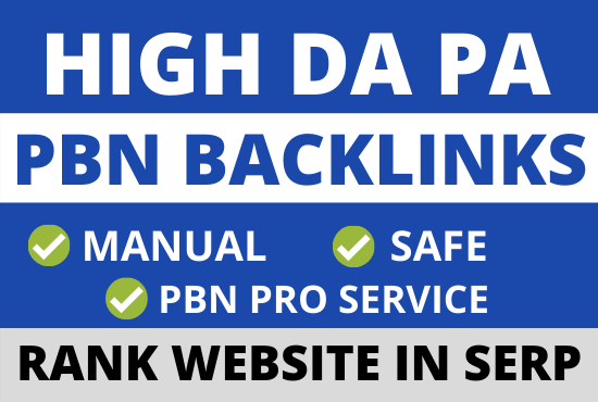 50 pbn backlinks from high authority da pa websites for google top ranking