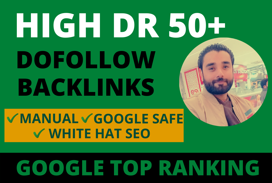 Get 10 DR 50+ PBN Backlinks homepage post for google top ranking