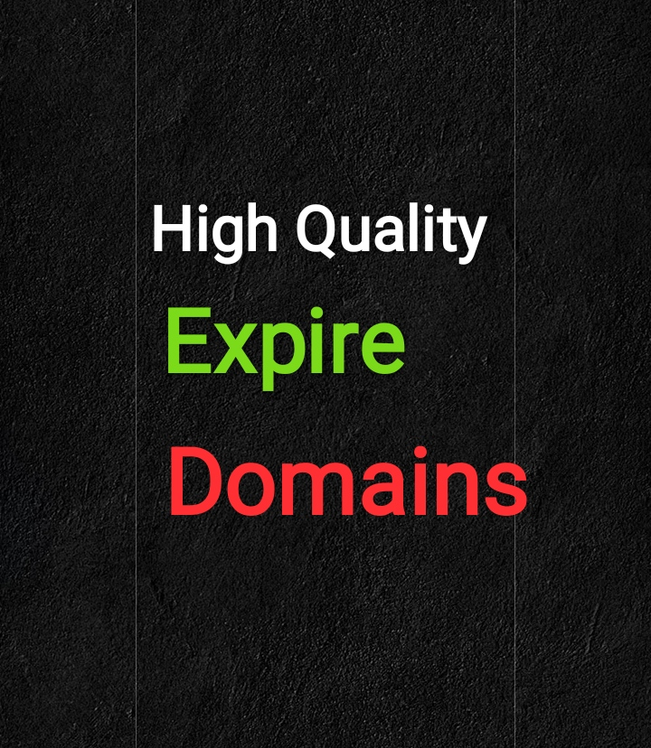 I will find 10+ qualitative expired domain research for You.