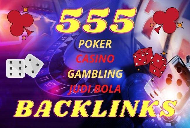 555+ CASINO,  GAMBLING,  POKER,  JUDI BOLA related Sites high quality pbn backlinks