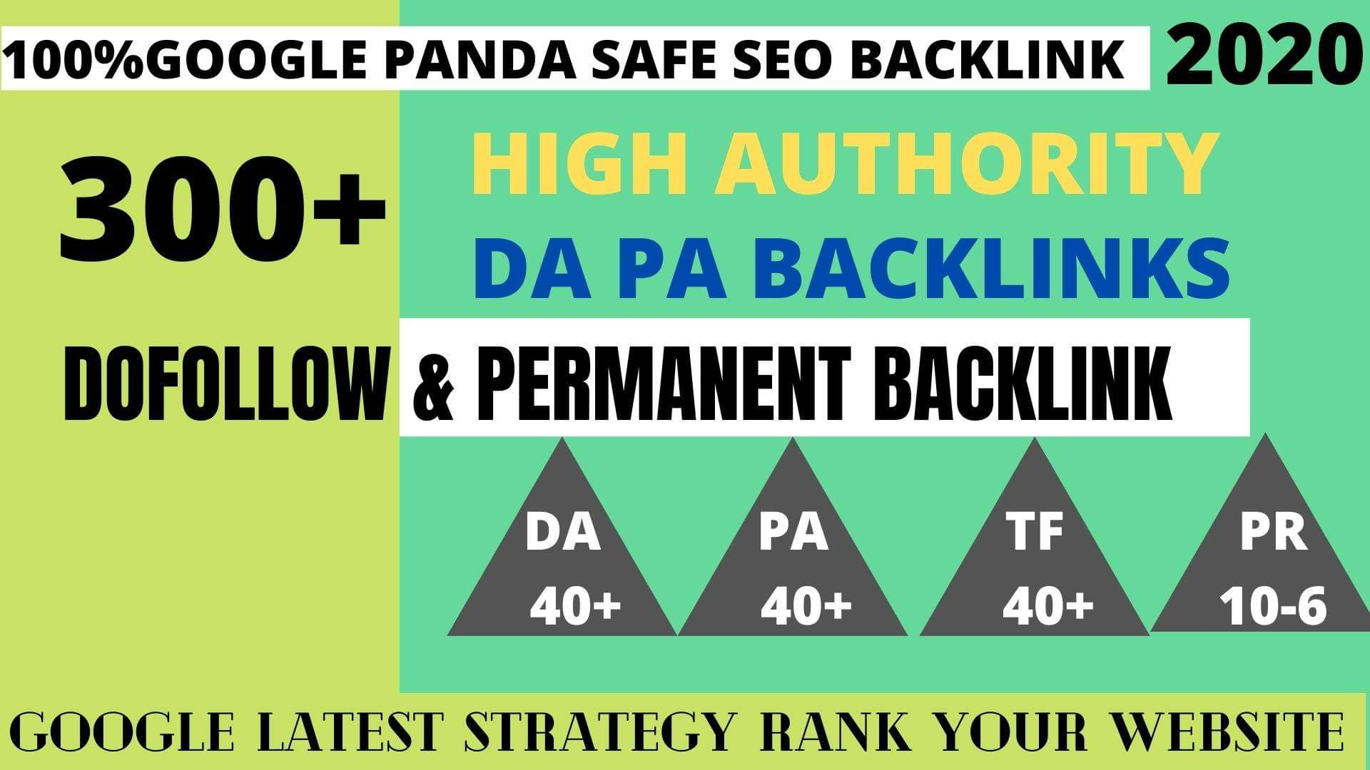 Get Powerfull 300 parmanent Backlink and PBN with High DA 40+ PA35+ on your Homepage with unique web