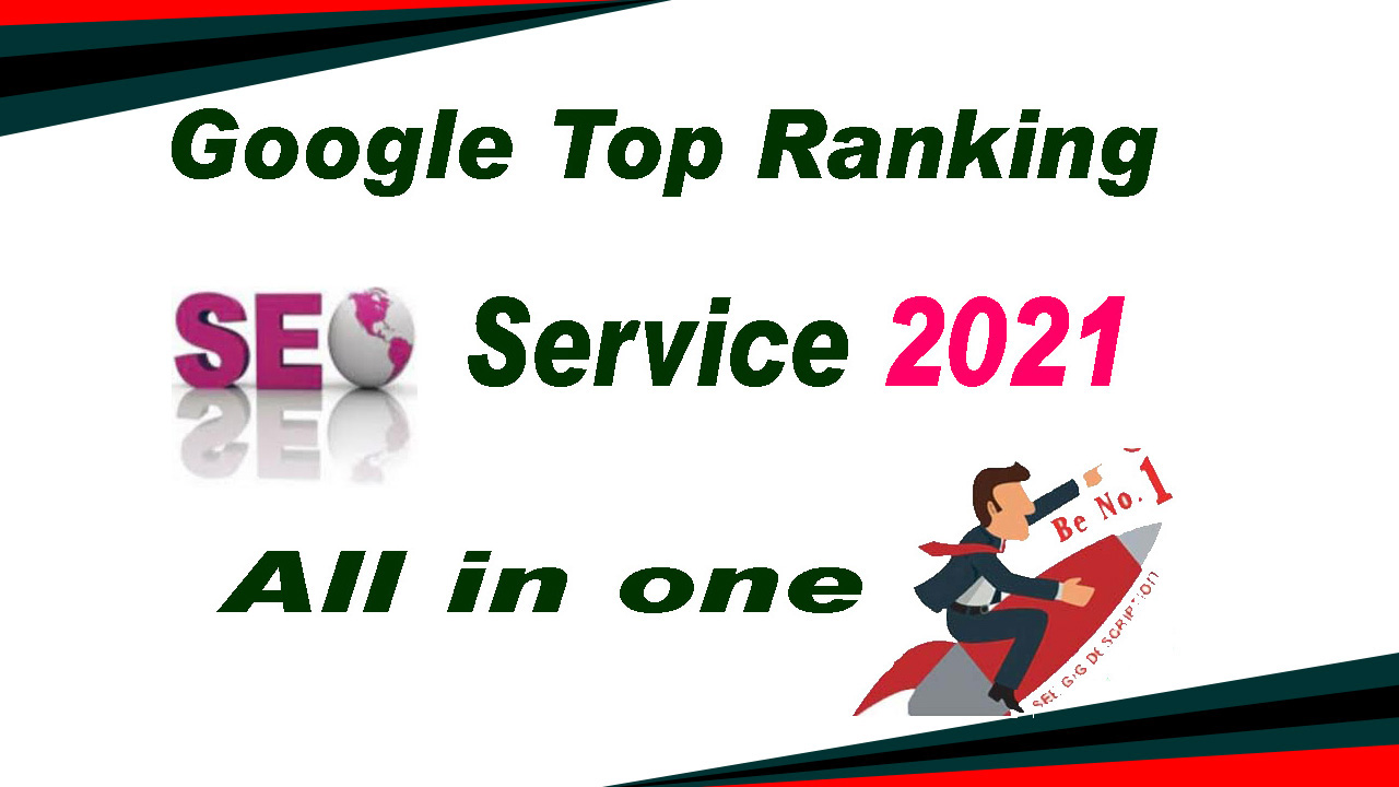 Rank Your Website on Google First Page, 30 Days SEO Backlinks 2021