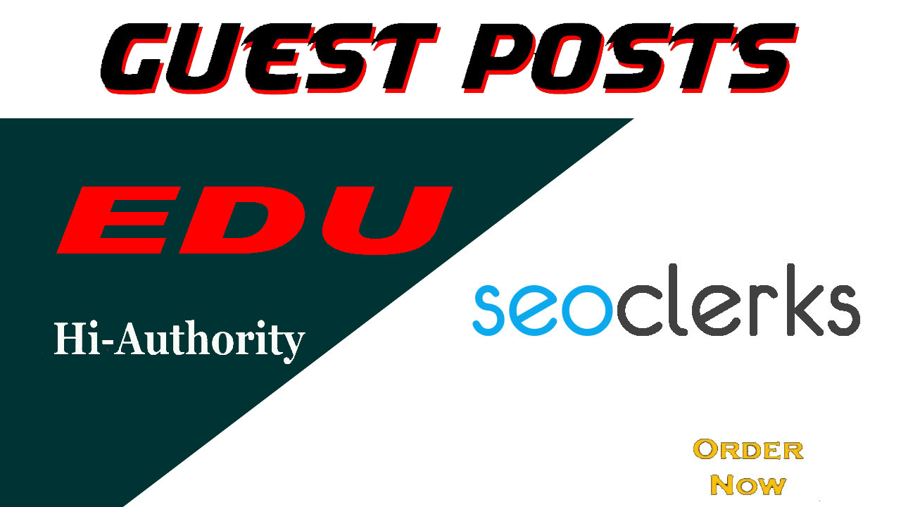 I will write and publish 3 dofollow edu guest posts